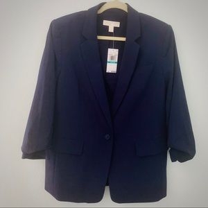Michael Kors Women's Navy Blue Blazer size 16